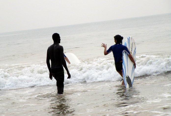 Busua surf Beach Ghana