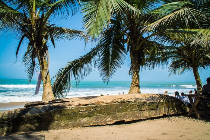 Kokrobite Beach Ghana
