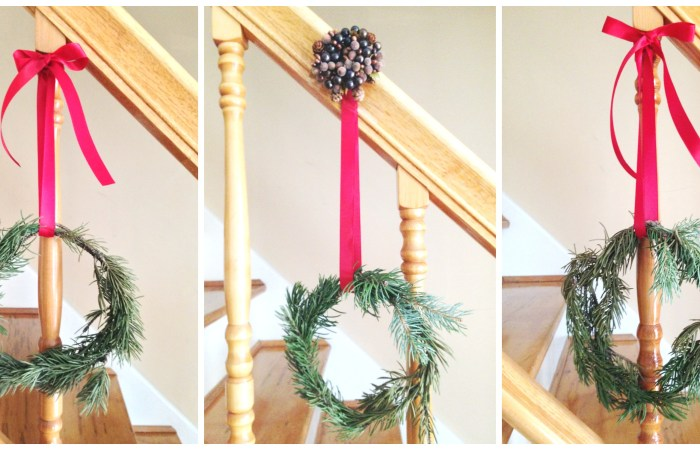 How To : Mini Pine Wreaths