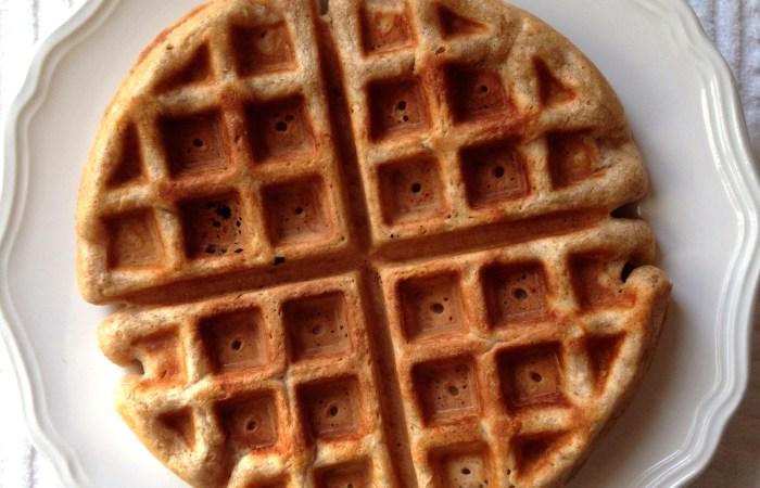 Spelt Waffles