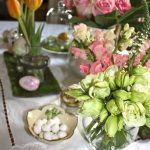 Golden Egg Hunt Tablescape & A Natural Textured Egg DIY