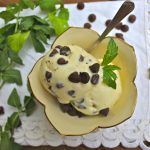 Fresh Mint Ice Cream for National Ice Cream Day