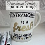 Handmade Holiday: Painted Mugs
