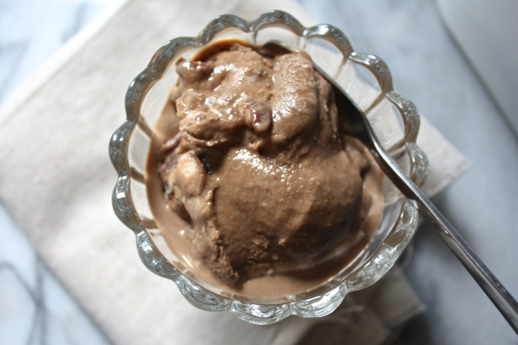 Malted Chocolate Crunch Ice Cream