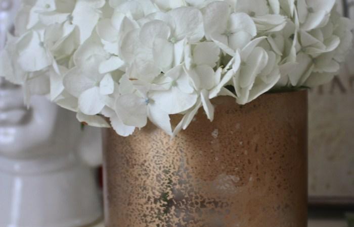 How To : Mercury Glass Vase || Dreamery Events