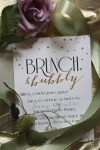 A DIY Gatsby Garden Brunch Bridal Shower