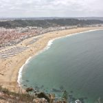 Traveling to ….. atop the picturesque views of Nazaré's coastline || The Sitio