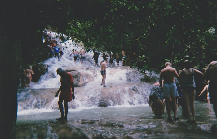 Traveling to…Dunn's River Falls