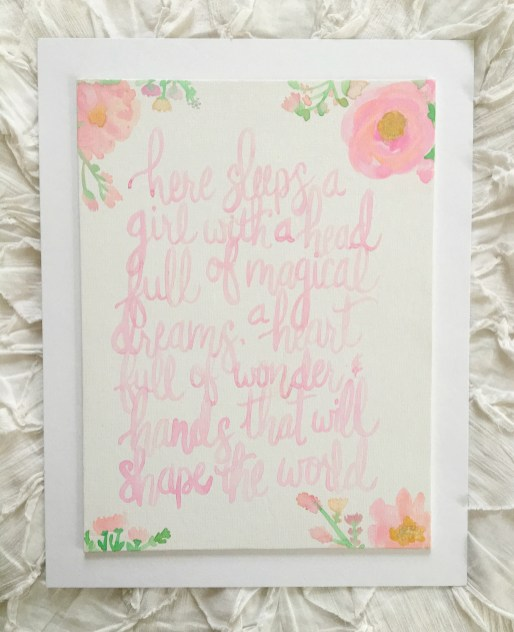 My Favorite Gift for a New Baby | Dreamery Events