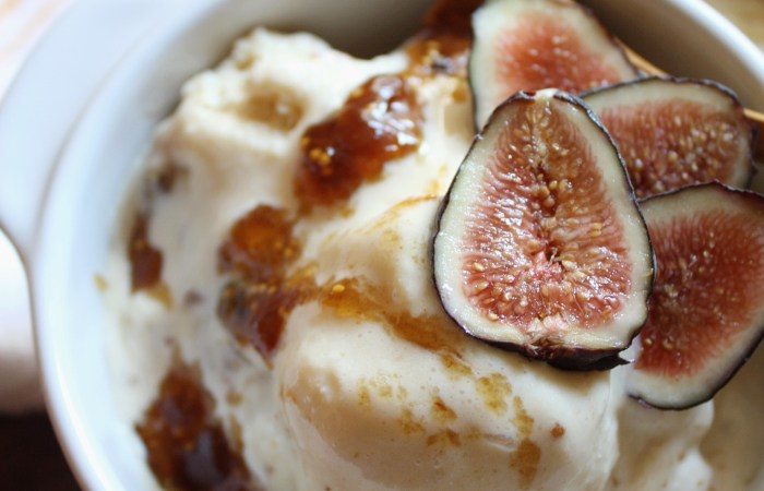 Brown Sugar Fig Ice Cream