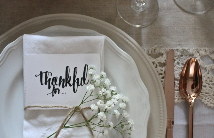 Place Setting 101 : Semi Formal Table
