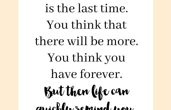 Inspiring Words : Life is Fleeting | Dreamery Events
