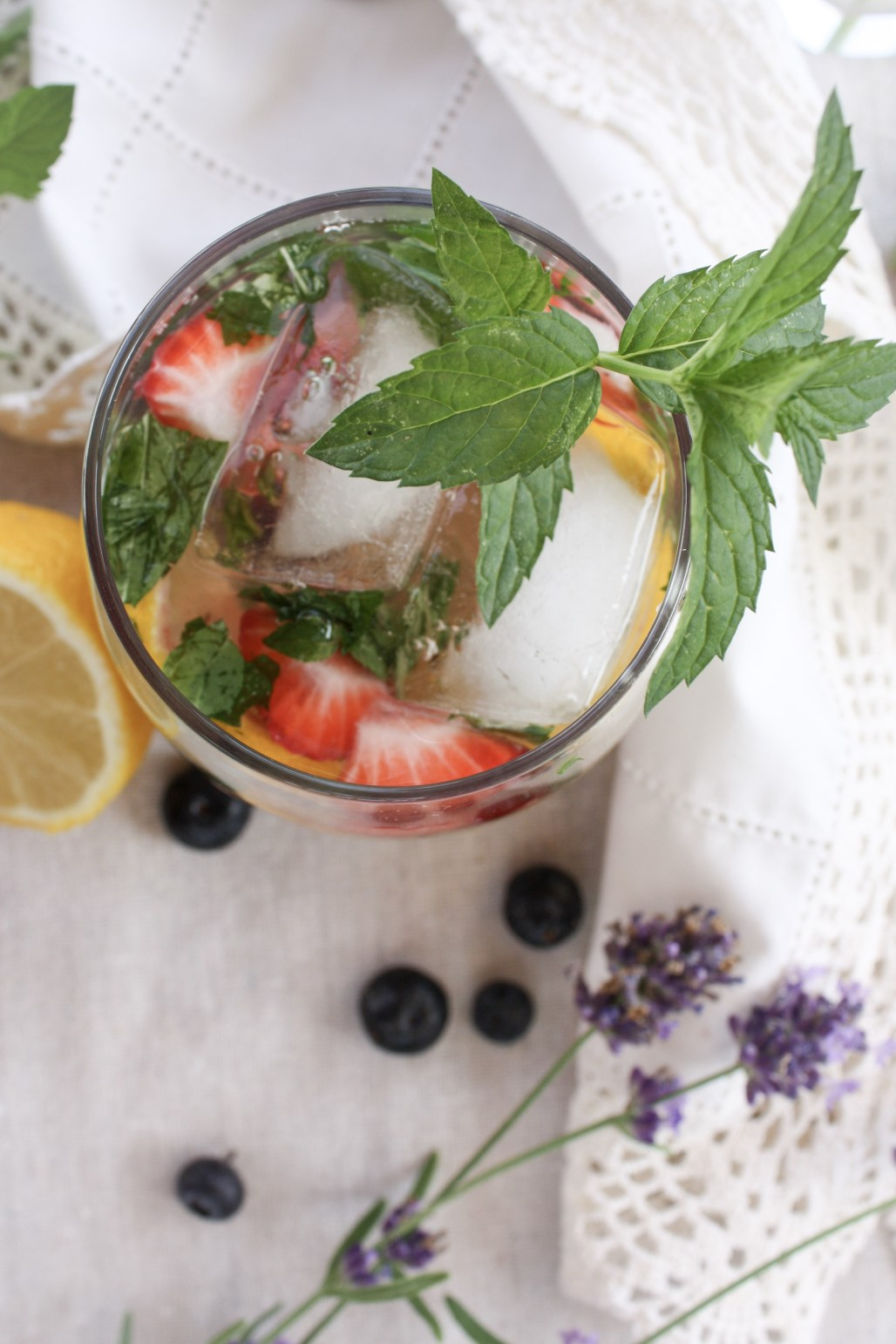 Summer Berry Mint Water | Dreamery Events