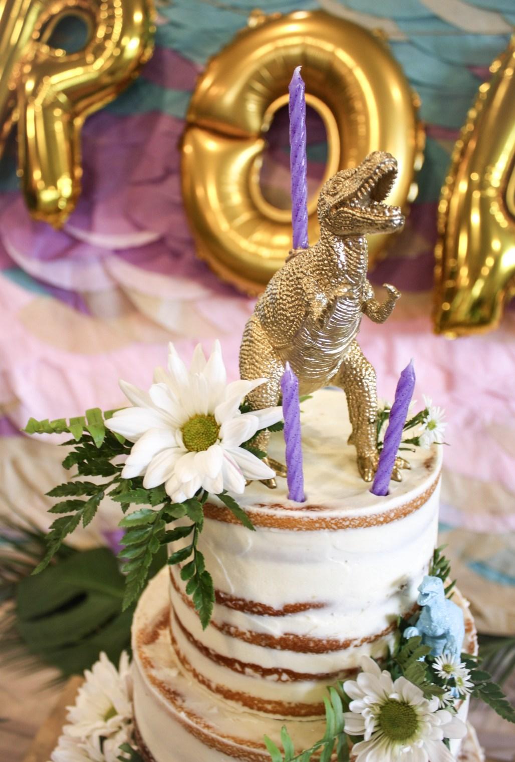 A Tropical Dino-mite Birthday | Dreamery Events
