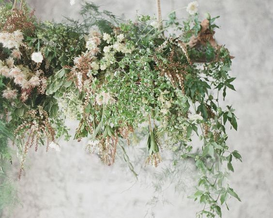 Wedding Inspiration : DIY Flower Chandelier with ProFlowers
