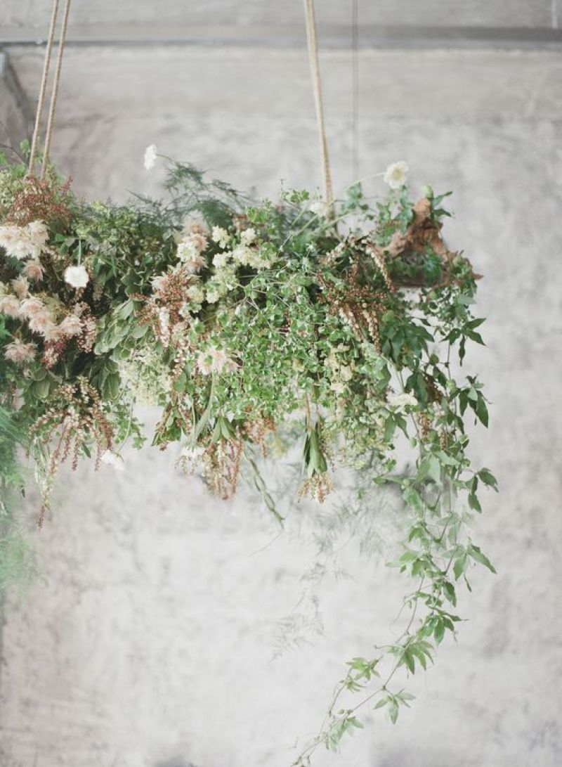 Wedding Inspiration : DIY Flower Chandelier with ProFlowers | Dreamery Events