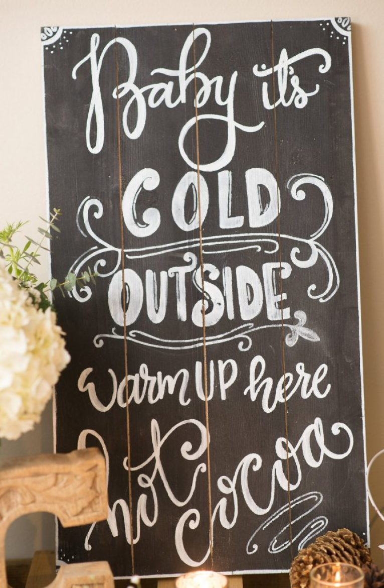 A Winter Garden Bridal Shower | Dreamery Events