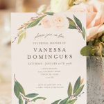 A Winter Garden Bridal Shower