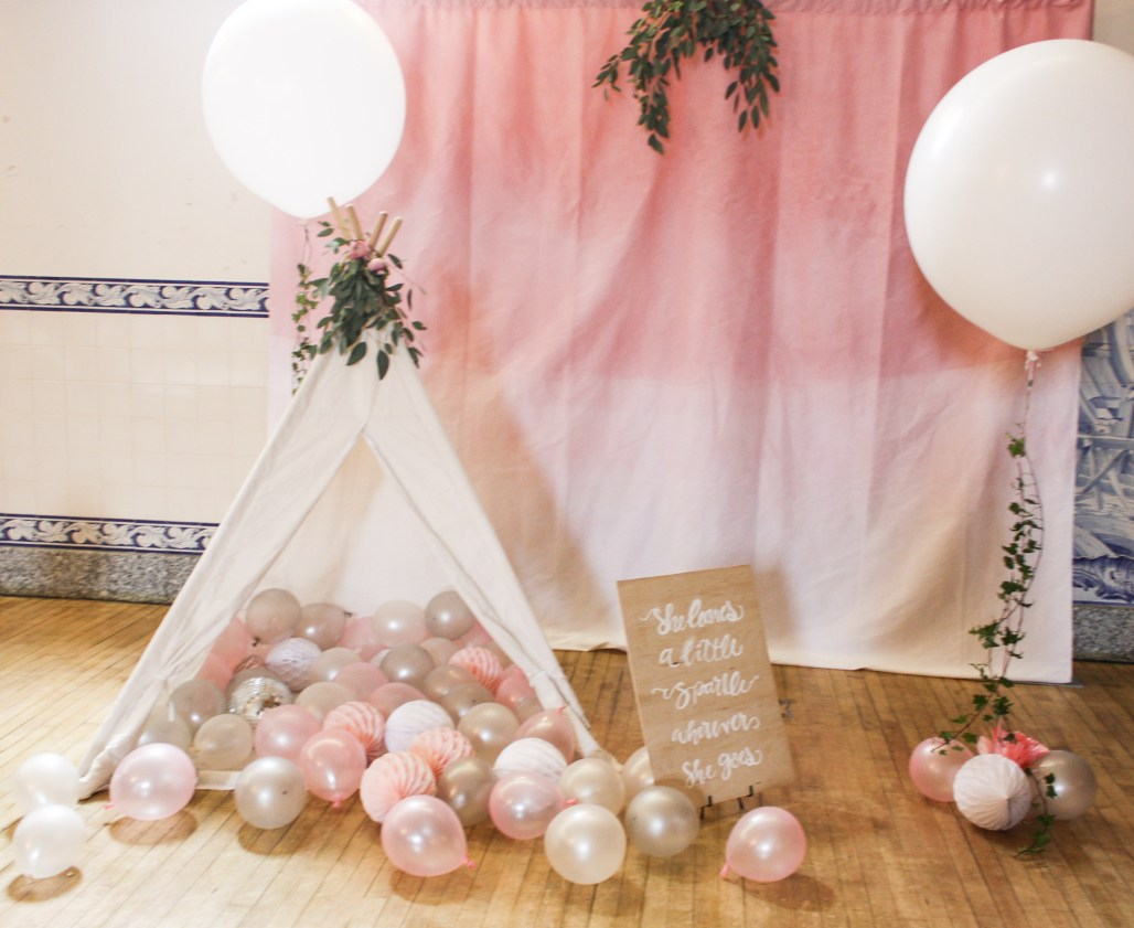 A Bit of Sparkle, A Dashing of Pink & Balloons Galore! | Delia's 2nd Birthday