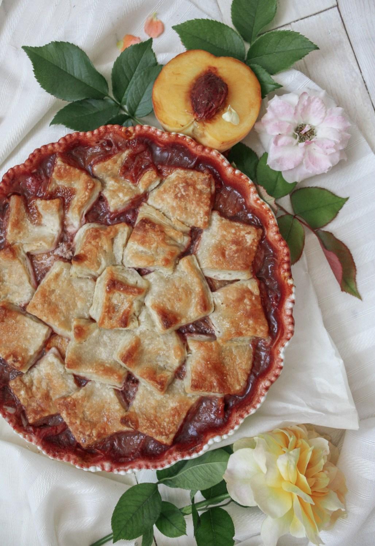 Peach & Raspberry Pandowdy   Dreamery Events