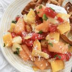 Sweet & Savory Summer Fruit Salad