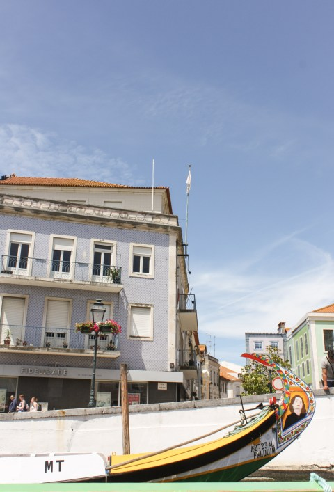 "A Moliceiro Boat Ride through Aveiro's Ria || The ""Portuguese Venice"" 