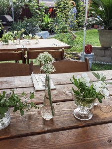 "An Effortless Al Fresco ""Fado"" Garden Party 