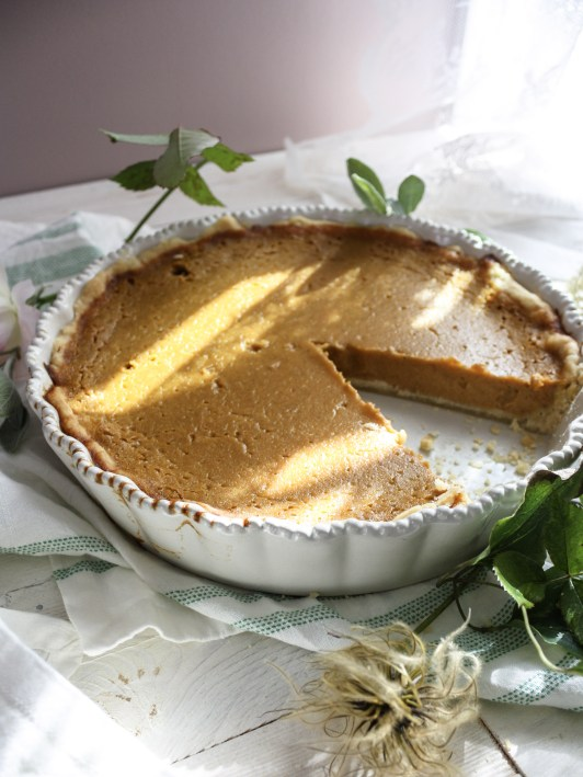 Caramel Pumpkin Pie || Dreamery Events