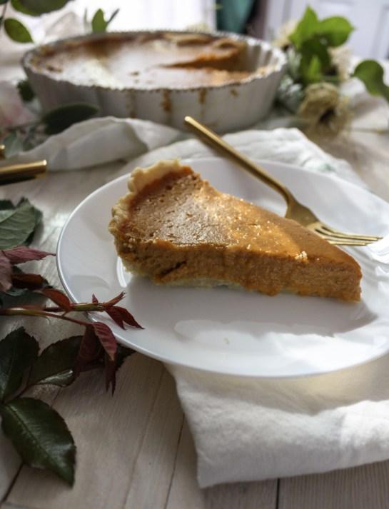 Caramel Pumpkin Pie || Dreamery Events