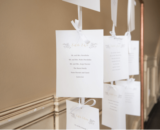 A Modern Classic Green, White & Gold Autumn Christening