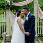 Your Boho Heart Will Be Swooning … Nicole & Jerry's Rose Gold Garden Wedding at The Oakeside Mansion