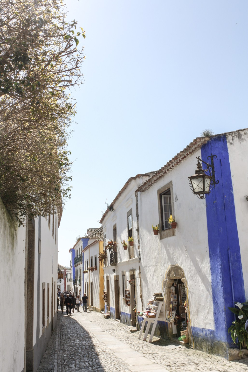 Medieval Castle Walls with Cobblestone Alleyways Marked of Culture & History    Óbidos, Portugal    Dreamery Events