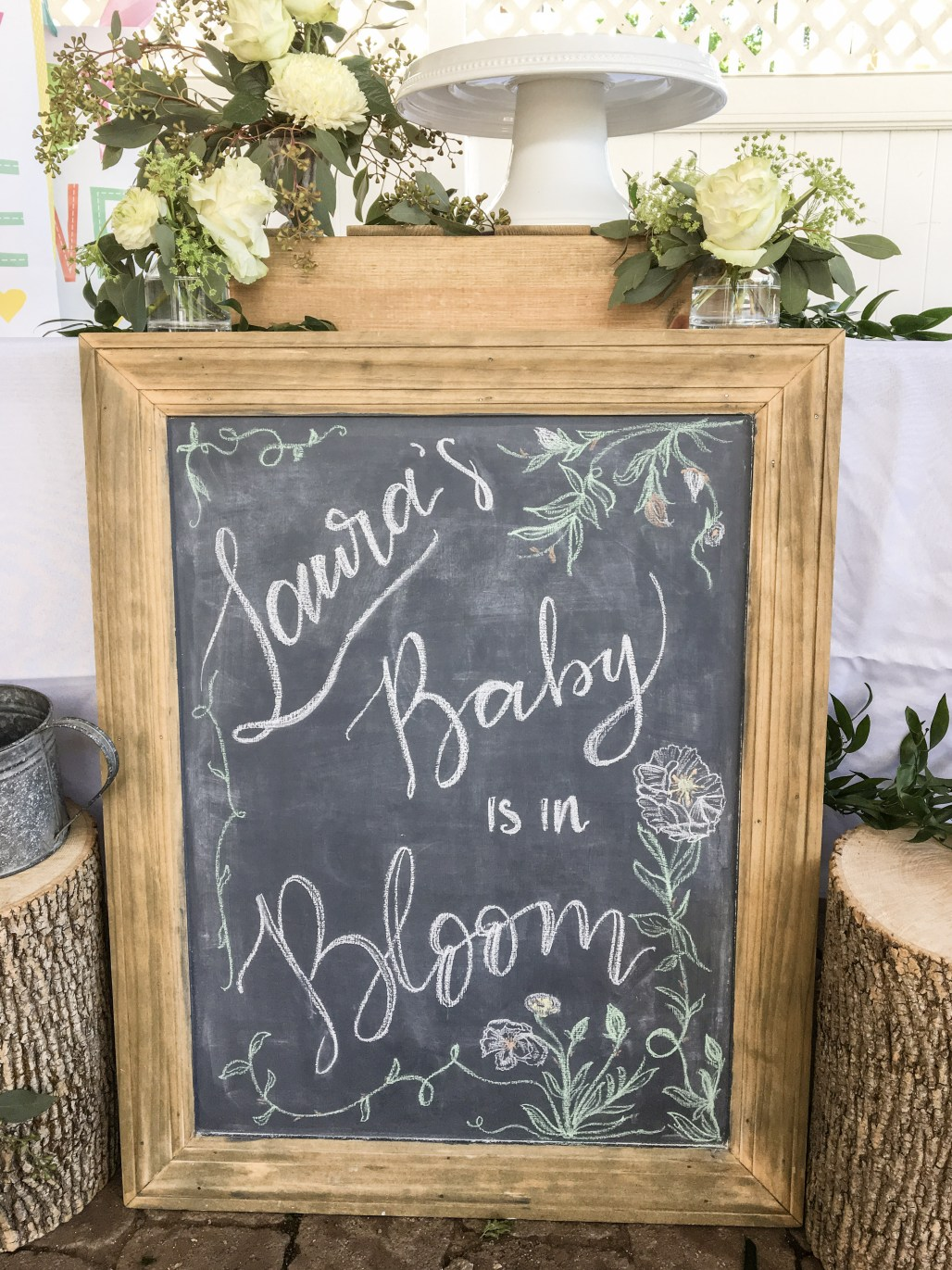 "Sweet + Simple ""Baby in Bloom"" Shower Ideas Anyone Can Put Together 
