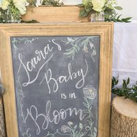 "Sweet + Simple ""Baby in Bloom"" Shower Ideas Anyone Can Put Together"