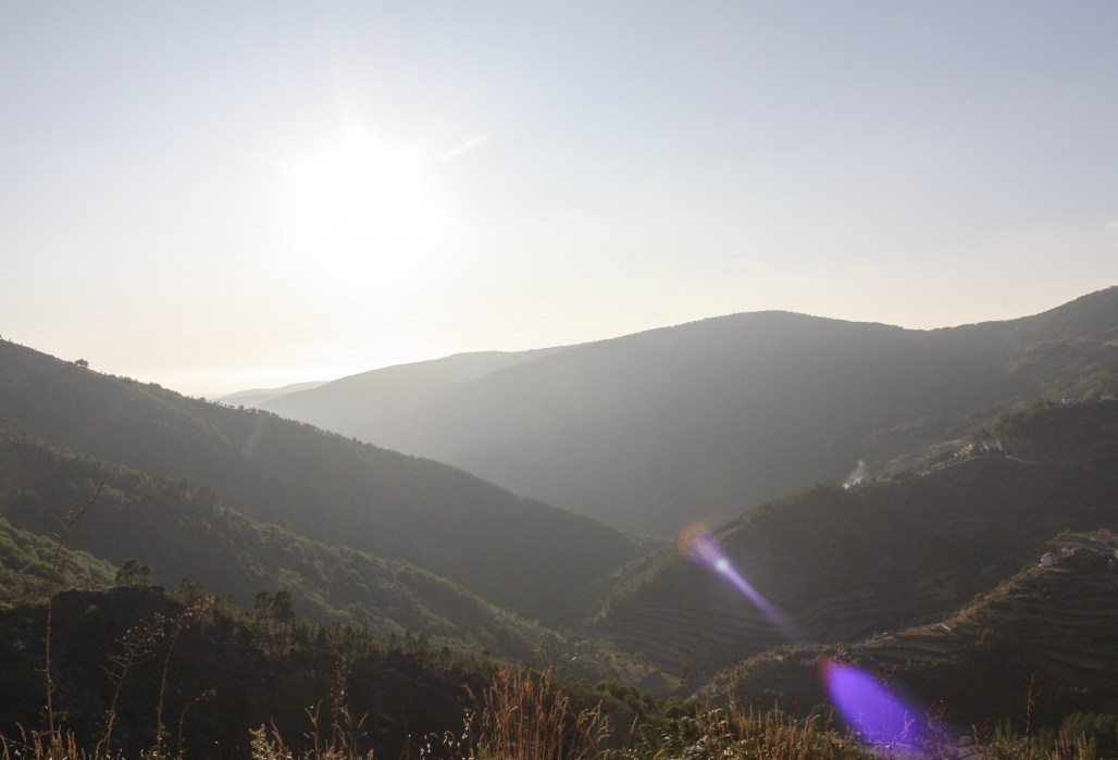 Traveling to ..... a picturesque sunset drive through the glow of Serra da Estrela || Dreamery Events