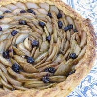 d'Anjou Pear + Marmelade Tart