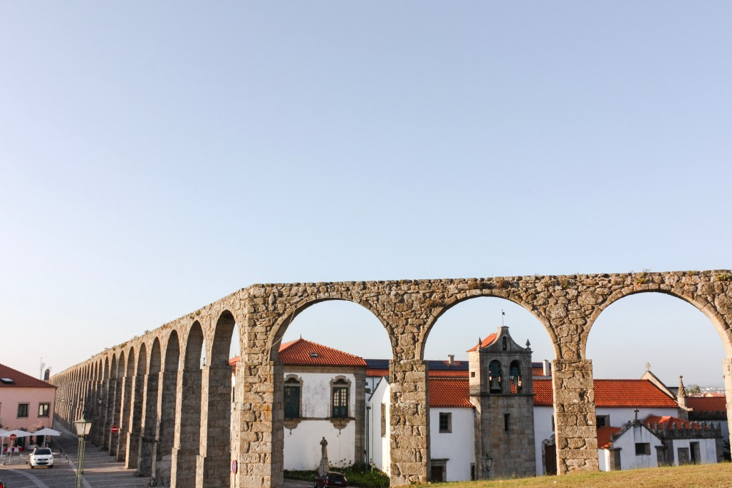 Traveling to ..... a hazy sunset detour to the historical Monastery walls of Vila do Conde    Dreamery Events