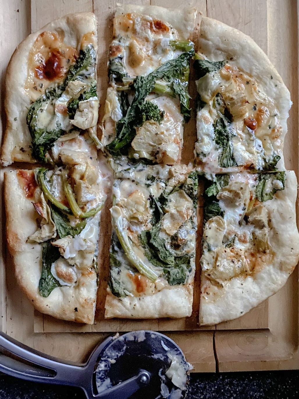 3 Homemade Pizza Recipes that are Better than Takeout :: Artichoke, Broccoli Rabe + Smoked Gouda || Dreamery Events