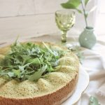 "Whole Wheat Arugula + Spinach Cake :: Bolo ""Shrek"" de Agrião e Espinafre"