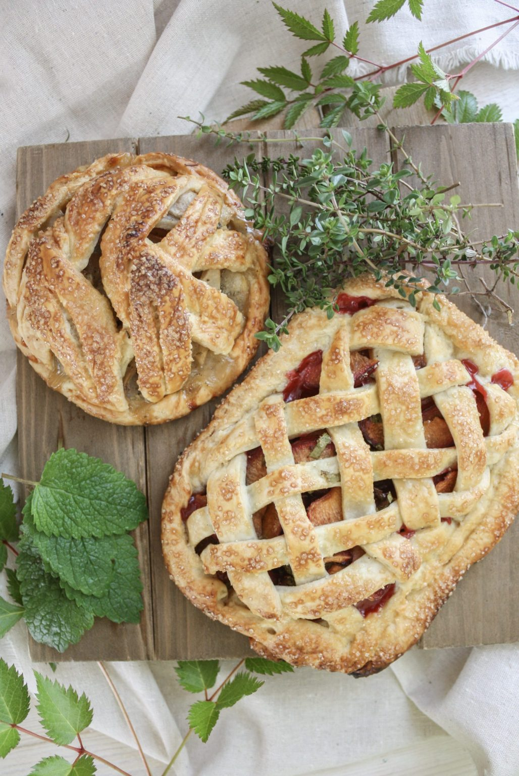 Summer Fruit & Herb Pairings :: Pie Edition || Dreamery Events