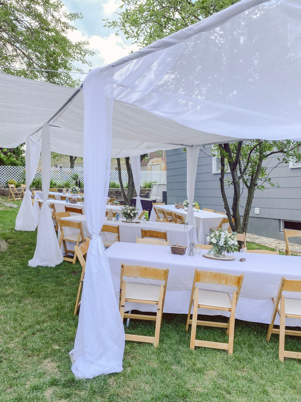 How to Have a Safe Outdoor Party at Home during Covid-19 || Dreamery Events
