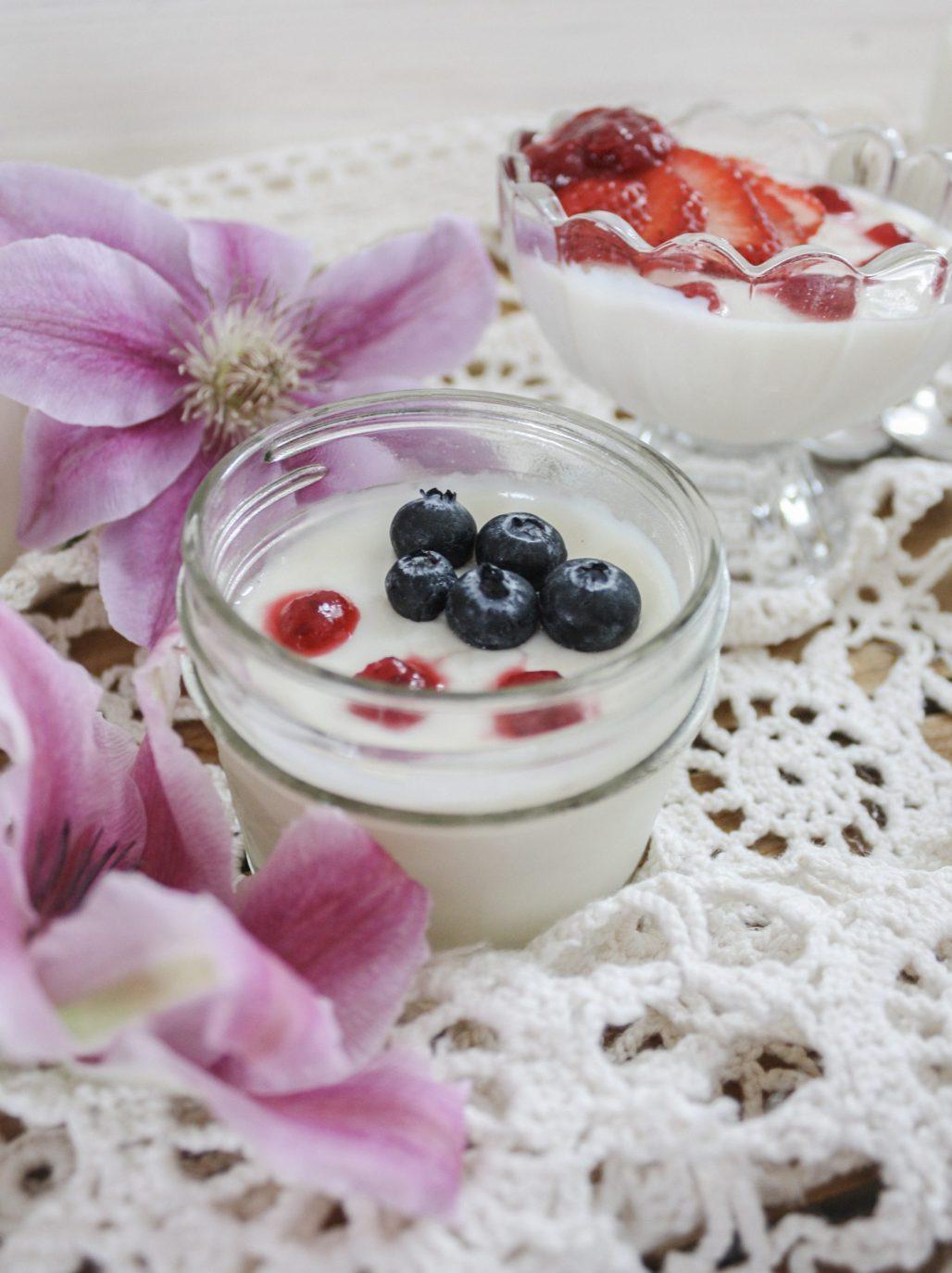 Vanilla Bean Panna Cotta || Dreamery Events