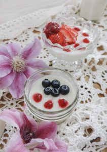 Vanilla Bean Panna Cotta || Dreamery Events