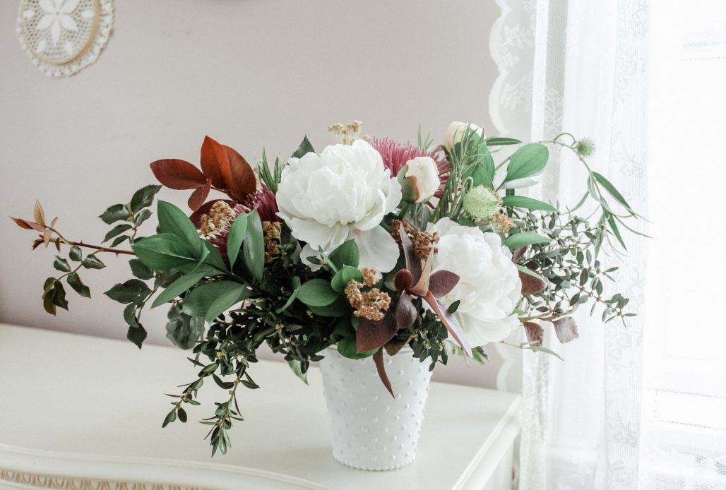 Autumn Florals A Foraged Peony Arrangement Dreamery Events