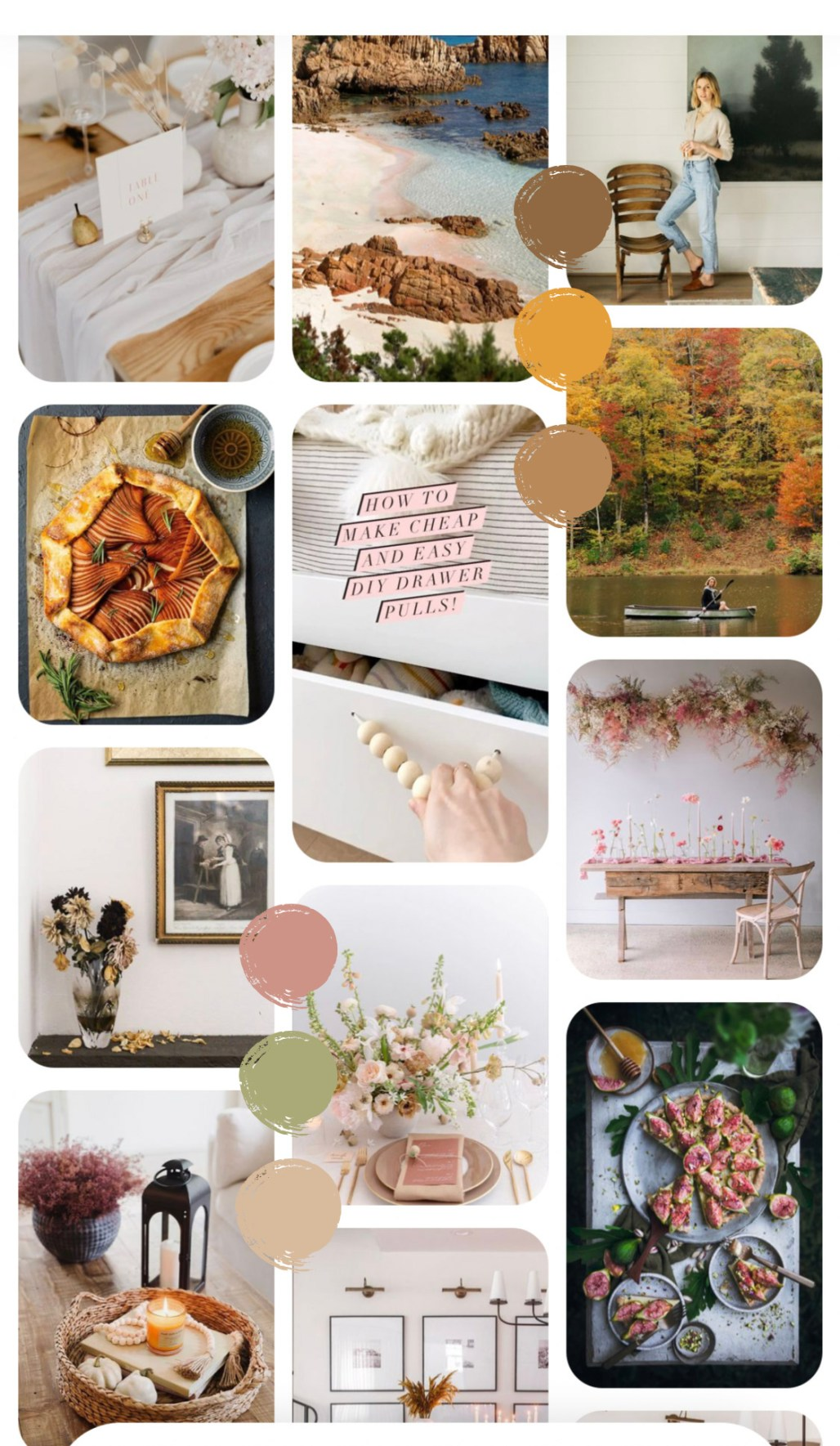 Autumn Mood :: Slow Comforts & Warm Color Palettes || Dreamery Events