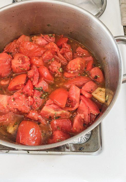 My Favorite Fresh Tomato Sauce for Any Recipe | Dreamery