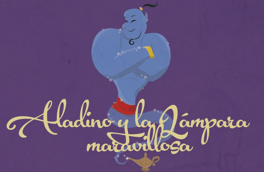 Aladdin Genie illustration