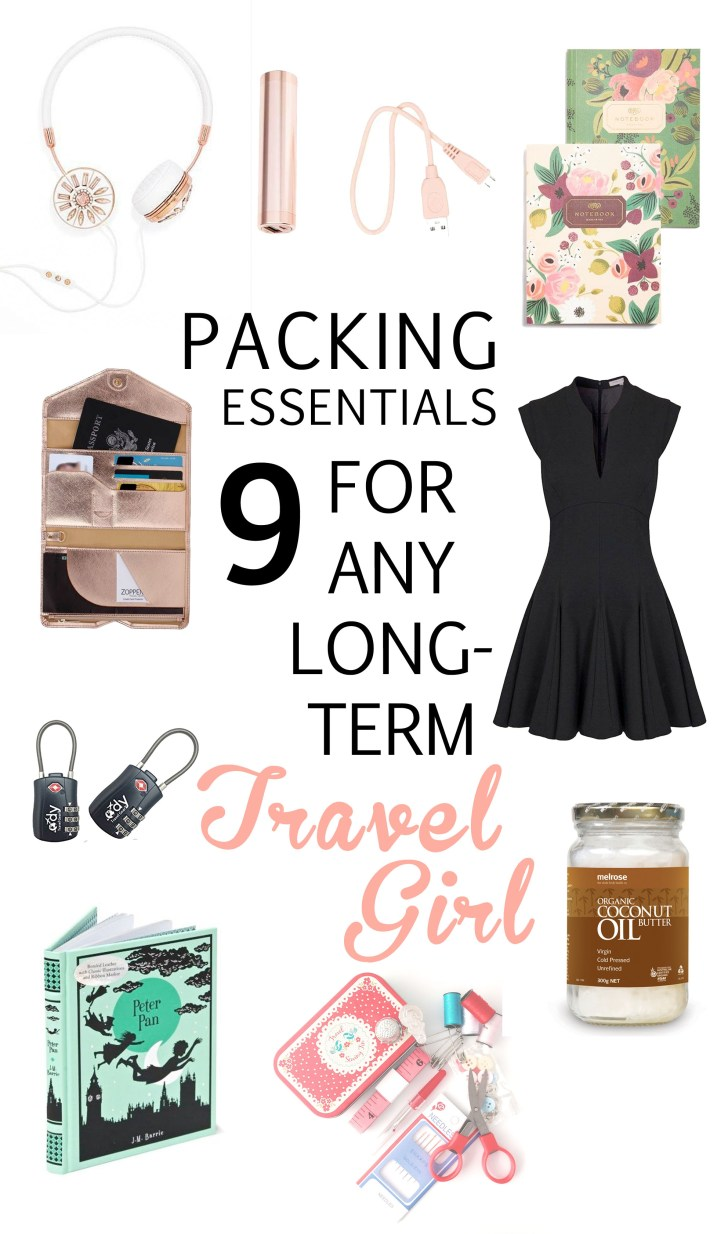 9 Packing Essentials for any Long-Term Travel Girl