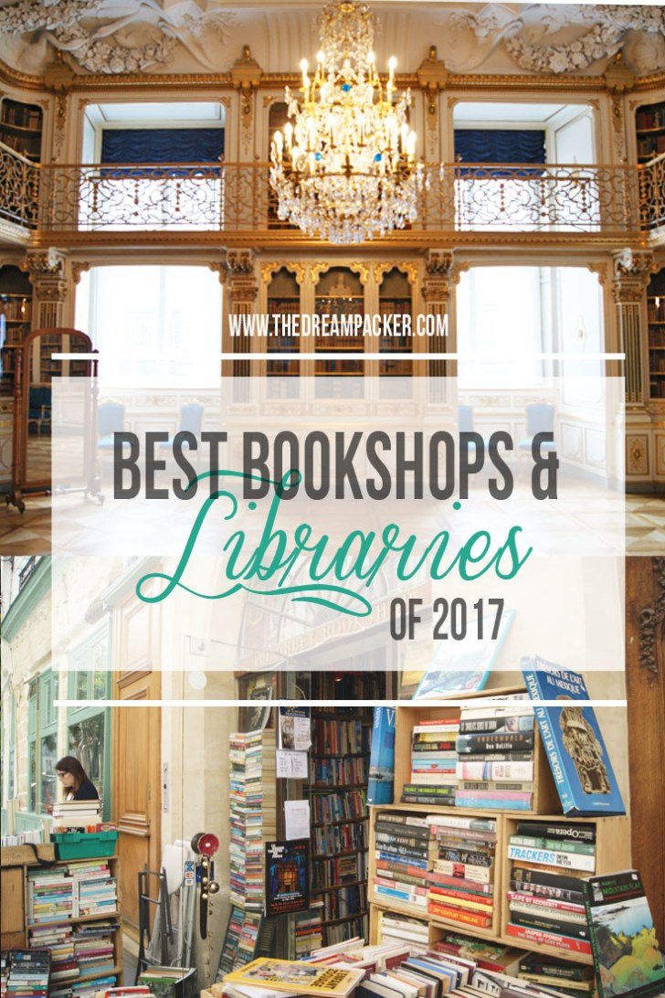Best libraries and bookshops 2017
