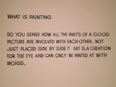 Parting words from MoMA: Appreciate art!